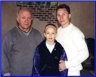 Валерий Люкин (олимпийский чемпион по спортивной гимнастике), Анастасия Люкина (ведущая гимнастка сборной США, чемпионка мира и олимпийских игр)